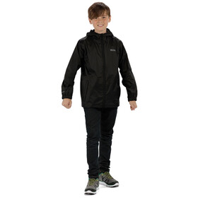 Regatta Pack-It III Jas Kinderen, black